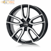 Rial Torino 6,5x16 5/114,3 ET40 d-70,1 Diamond Black Front Polished (TOR65640B83-1) MP