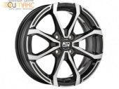 MSW X4 5,5x15 4/100 ET42 d-60,06 Black Full Polished (W19264001T56)