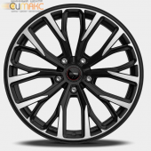 MOMO RF-02 (SUV) 11,0x20 5/120 ET37 d-74,1 Matt Black Polished (WR22B11037574Z)