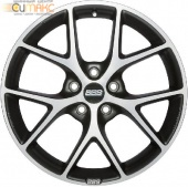 BBS SR026 8,5x19 5/120 ET32 d-82 Vulcano Grey Diamond Cut (0362646#)