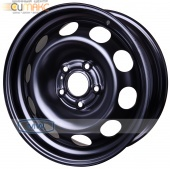 Magnetto (16007 AM) 6,5Jx16 5/114,3 ET40 d-66 Black New Qashqai, New Tiida