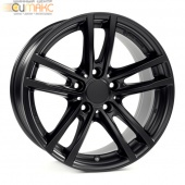 Alutec X10 7,5x17 5/112 ET27 d-66,5 Racing Black (X10-75727W64-5) For OEM Cap