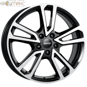 Alutec Tormenta 7,5x17 5/112 ET40 d-66,5 Diamond Black Front Polished (TMT75740M13-1)