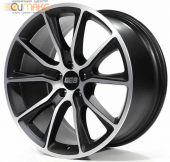 BBS SV009 10,5 x22 5/120 ET38 d-72,5 Satin Black Diamond Cut (10016049)