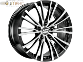 MSW 20-5 8,0x17 5/112 ET35 d-73,1 Matt Black Full Polished (W1916550259) d-PLY