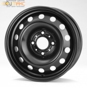 Magnetto (16008 AM) 6,0Jx16 4/107,95 ET37,5 d-63,35 Black  Ecosport