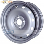 Magnetto (15001 S AM) 6,0Jx15 4/100 ET50 d-60,0 Silver Lada Largus_New/Nissan Almera